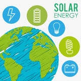 Energy sources Royalty Free Stock Photo