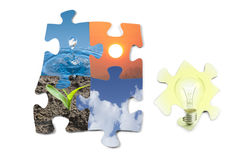 Energy sources Stock Images