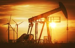 Energy Sources Stock Photography