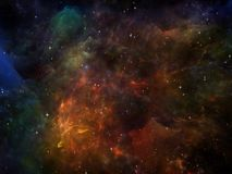 Energy of Space Stock Image