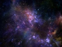 Energy of Space Stock Photo