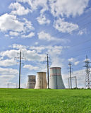 Energy station Royalty Free Stock Image
