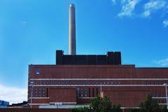 Energy station Stock Image