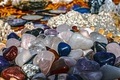 Energy stones 5 stock images