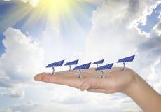 Energy of the sun Stock Photo