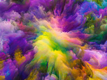 Energy of Surreal Paint Stock Images