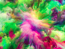 Energy of Surreal Paint Stock Photos