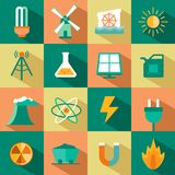 Energy symbols Royalty Free Stock Photography