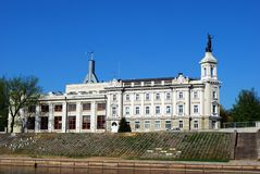 Energy and Technology Museum. Vilnius city. Stock Image