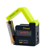Energy tester for accumulators. Royalty Free Stock Photography