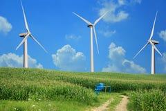 Energy Three Ways Royalty Free Stock Image