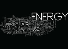 Energy Tips To Help Your Pocketbook And America Word Cloud Concept Royalty Free Stock Photo