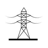 Energy tower isolated icon Stock Photo
