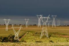 Energy Towers Stock Photo