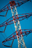 Energy transmission towers Royalty Free Stock Images