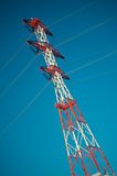 Energy transmission towers Royalty Free Stock Photography