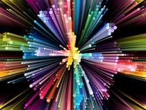 Energy of Vibrant Circle Stock Photos