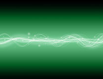 Energy Wave. A glowing energy wave background. good for technology type backgrounds Royalty Free Stock Photo