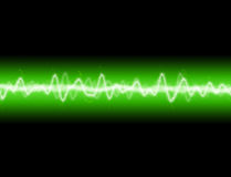 Energy Wave. A sound wave or energy wave background Vector Illustration