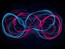 Energy waves Stock Photography