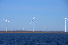 Energy wind mills Stock Image