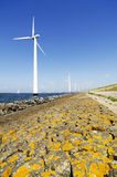 Energy wind mills Royalty Free Stock Photo