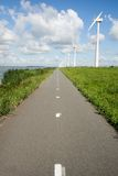 Energy windmills holland Royalty Free Stock Photography
