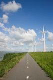 Energy windmills holland Royalty Free Stock Image