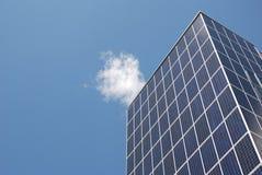energysaving panels sol- Royaltyfri Bild