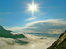 Enevoa-se e nubla-se Fotografia de Stock Royalty Free