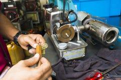 Enevoar-se faz à máquina o equipamento para usar-se para o mosquito do Aedes das matanças Fotos de Stock Royalty Free
