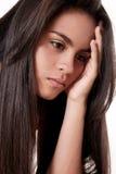 Enfado e depressão Fotos de Stock Royalty Free