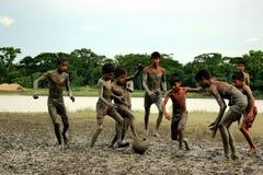 Enfance au Bangladesh Images libres de droits