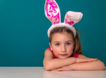 Enfance de lapin de Pâques image libre de droits