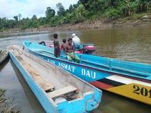 Enfance de Papuan Images stock