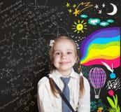 Enfance heureux, éducation de créativité, découverte photos stock