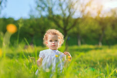 Enfance heureux image stock