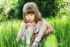Enfance insousiant Image libre de droits