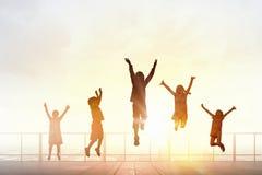 Enfance négligent heureux Images libres de droits