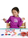 Enfance peignant 005 Photo stock