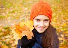 Enfant à l'automne Image libre de droits