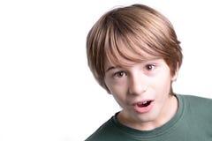 Enfant étonné photo stock