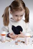 Enfant étonné Photo libre de droits