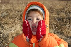 Enfant Photographie stock