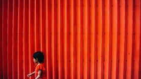 Enfant absent Images libres de droits