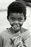 Enfant africain Photo stock
