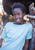 Enfant africain image libre de droits