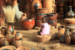 enfant africain Images stock