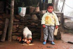 Enfant asiatique Photos libres de droits