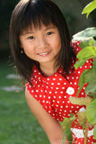 Enfant asiatique espiègle Photos stock